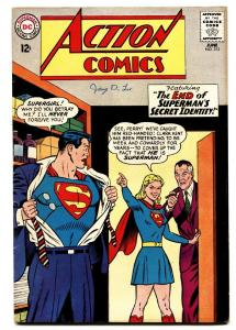 ACTION COMICS #313 comic book 1964-SUPERMAN-SUPERGIRL-PERRY WHITE FN