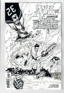 ASH vs ARMY OF DARKNESS #4, VF/NM, Variant, Bruce Campbell, 2017, more AOD in st