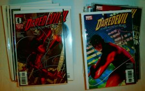 Lot of 69 comics: Daredevil V2 #1,4,7,9,16-19 +++ Kevin Smith, Bendis, Brubaker