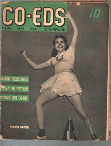 CO-EDS Fun On Campus-Winter 1942-cheesecake-swimsuits-cartoons-G