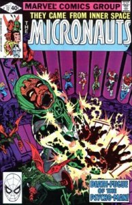 Micronauts #17 Marvel 1980 3.0 GD/VG (Stock Photo)