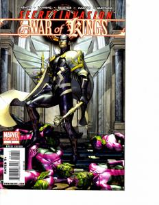 Lot Of 2 Marvel Comic Books War of Kings #1 and Aftermath Beta Ray Bill #1 BF3