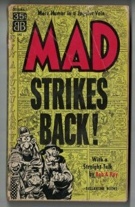 Mad Strikes Back! (11th printing) GD Ballantine Books 1961 magazine -paperback