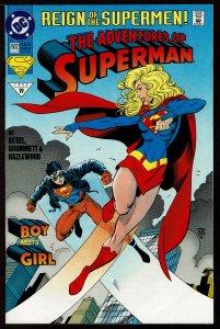 Adventures of Superman #502  (Aug 1993, DC)  9.0 VF/NM