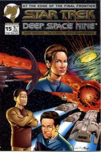 Star Trek: Deep Space Nine (1993 series) #15, NM (Stock photo)