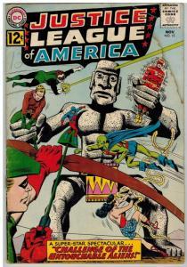 JUSTICE LEAGUE OF AMERICA 15 FR-G Nov. 1962