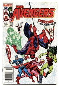 AVENGERS #236 comic book-Spider-Man joins team-Marvel nm-