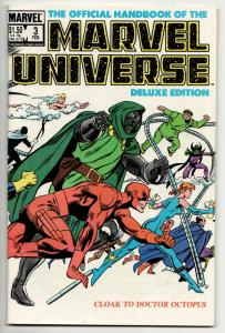 Official Handbook of the Marvel Universe #3 Deluxe Edition (1986) FN