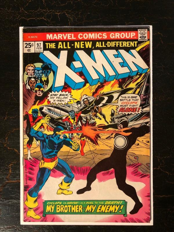 The X-Men #97 - First Appearance of Lilandra, Return of Polaris and Havoc
