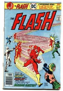 FLASH COMICS #244 Mirror Master comic book-1976