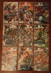JLA #1 --- 9 COVER SET (2015)