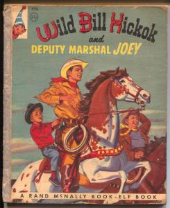 Wild Bill Hickok #496 1956-Elf Books-Guy Madison-Deputy Marshal Joey-VG