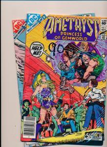 DC Comics AMETHYST Princess of Gemworld #5 & #6  FINE/VERY FINE (HX770)