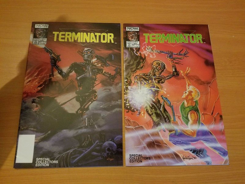Terminator: All My Futures Past 1-2 Complete Set Run! ~ NEAR MINT NM ~ 1990 Now
