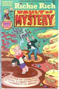 RICHIE RICH VAULT OF MYSTERY (1974-1982) 4 VF-NM COMICS BOOK