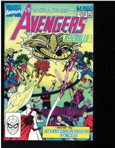 Avengers #18 Annual (Marvel, 1989)