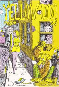 Yellow Dog #24 FN- (1st) tim boxell MICKEY MOUSE SATIRE not for disney purists