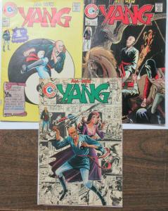 All New Yang (Charlton Comics 1973) #1, 4, 9 Kung Fu Master with a Curse!