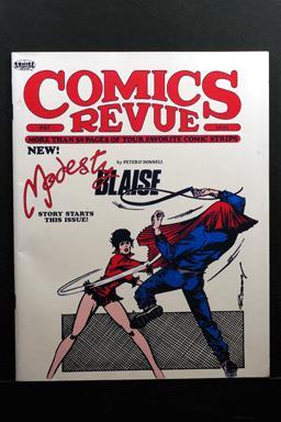 Comics Revue #67 1991 Modesty Blaise Cover