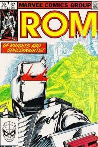 Rom (1979 series) #37, NM- (Stock photo)