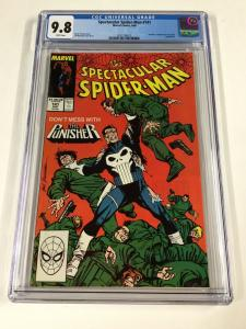 Spectacular Spider-man 141 Cgc 9.8 White Pages Marvel