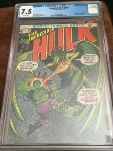 Incredible Hulk #168 - CGC 7.5 - 1ST APP HARPY - MID-GRADE - IMMORTAL HULK
