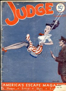 Judge Magazine August 1942- Spicy headlights on swing cover