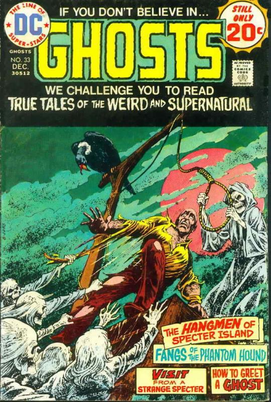 Ghosts #33 FN; DC | save on shipping - details inside