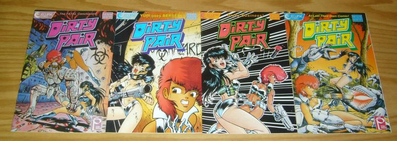 Dirty Pair #1-4 VF/NM complete series ADAM WARREN 1988 studio proteus eclipse