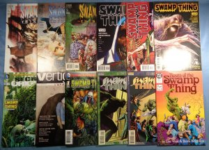 Swamp Thing Lot of 12 DC Comics Wrightson