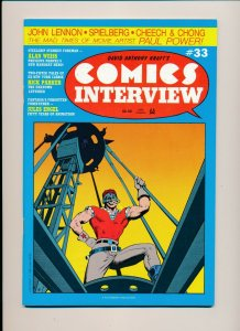 Southern Knights  COMICS INTERVIEW #33 1988  F/VF (PF946)