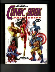 Official Overstreet Comic Book Price Guide # 37 Gemstone Publishing JK9