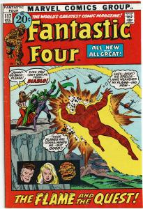 Fantastic Four #117, 4.0 or Better