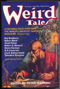 Weird Tales 1990-edited by Peter Haining-1st edition-Lovecraft-RE Howard-VF/NM