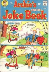ARCHIES JOKE BOOK (1954-1982)193 F Feb. 1974 COMICS BOOK