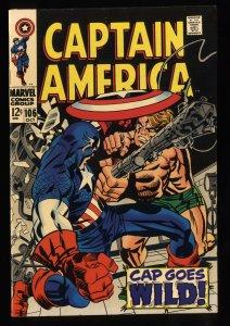 Captain America #106 VF 8.0