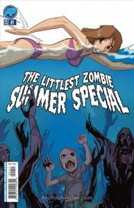 Littlest Zombie, The Summer Special #1 VF; Antarctic | save on shipping - detail