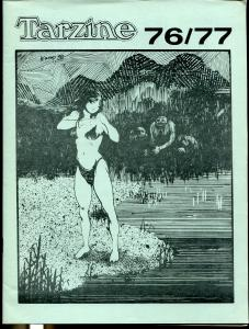 Tarzine #76/77 1989-Fanzine for collectors of Tarzan and ERB memorabilia-VF