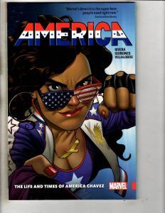 America Vol. # 1 Life & Times Of Marvel Comics TPB Graphic Novel Comic Book J296