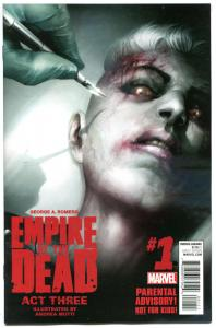 EMPIRE of the DEAD Act III #1 2 3 4 5, NM, George Romero, Zombies, 2014, Three