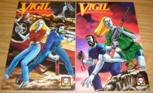 Vigil: Desert Foxes #1-2 VF/NM complete series bad girl vampire comics 1995 set