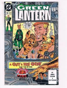 Green Lantern #10 VF DC Comics Comic Book Jones Hal Jordan Guy Gardner 1991 DE21
