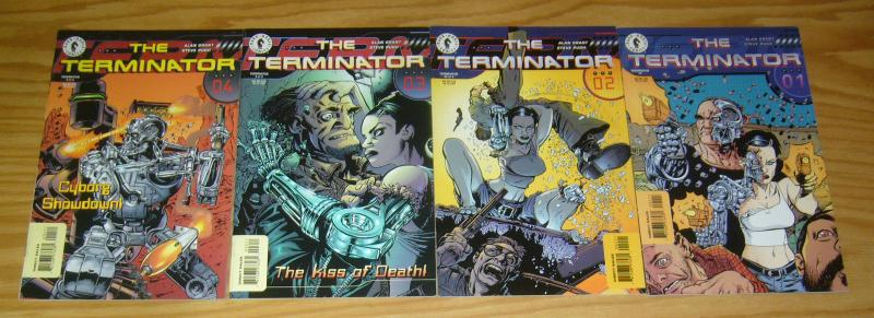 Terminator vol. 2 #1-4 VF/NM complete series  dark horse comics 1998 set lot 2 3