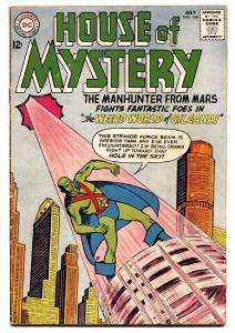 HOUSE OF MYSTERY #144 comic book 1964-MARTIAN MANHUNTER-DC COMICS