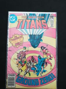 The New Teen Titans #10 Wolfman and Perez VF/NM DC 1981