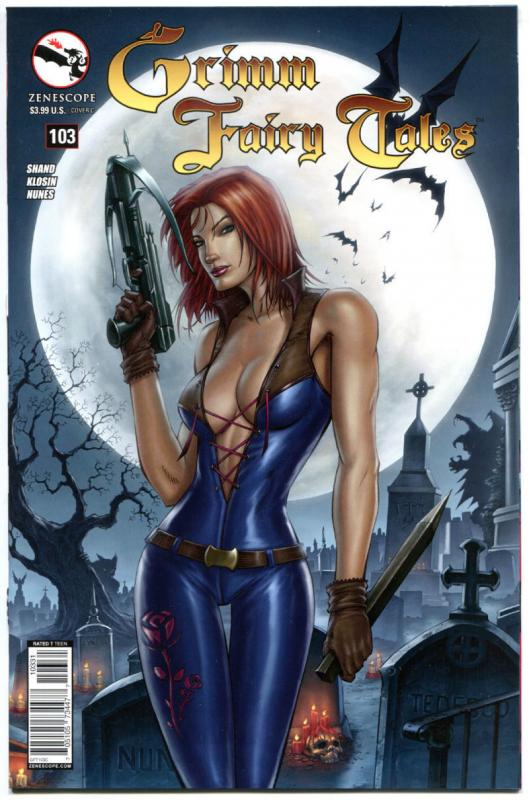 GRIMM FAIRY TALES #103 C, NM, 2005, 1st, Good girl, more GFT in store