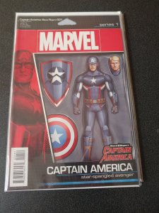 Steve Rogers: Captain America #1 (John Tyler Christopher Action Figure Variant)