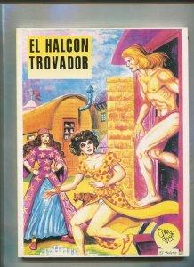 El Halcon Trovador de Manuel Gago (cubierta algo fatigada)