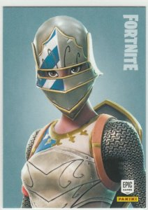 Fortnite Royale Knight 193 Rare Outfit Panini 2019 trading card series 1