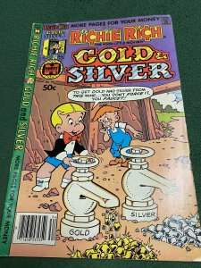 Richie Rich Gold and Silver #34 FN 1981